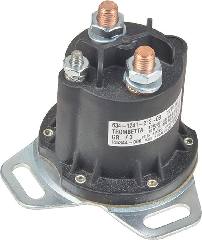 UNIVERSAL 24 volt 24V STARTER solenoid 6 terminal 50A intermittent load 50A