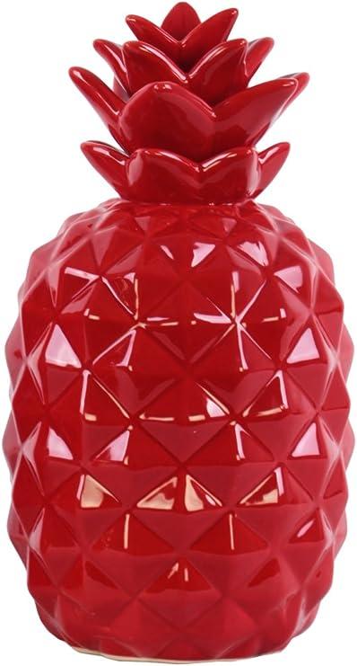 Urban Trends Ceramic Pineapple Green