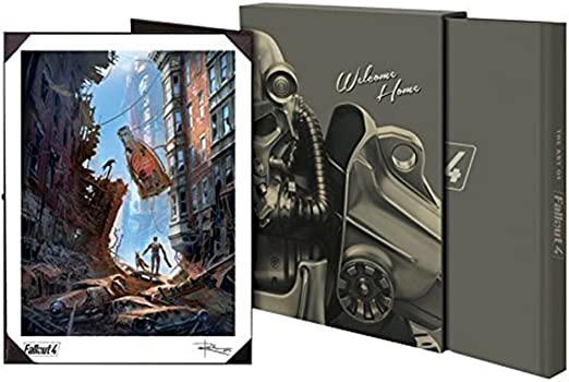 The Art of Fallout 4 Hardback Book: LE Collectors Edition: Amazon.es: Hogar