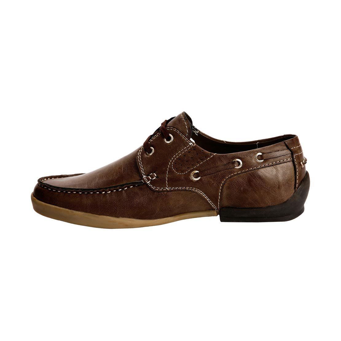 Amazon.com | Bacca Bucci Men Bbmb3091C Brown Sneakers - 10 | Fashion Sneakers