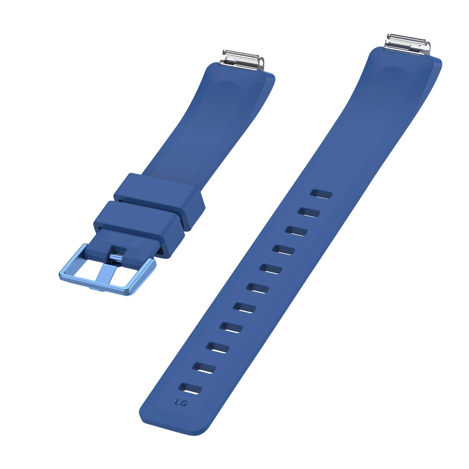 KingAcc Compatible Fitbit Inspire Bands Soft Silicone Replacement Band for Fitbit Inspire,Inspire HR with Metal Buckle Wristband Strap Women Men Large Small