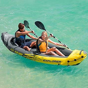 Kayak hinchable Explorer K2 con 2 remos