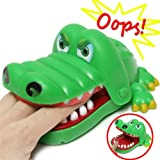 Oun Nana Crocodile Dentist - Crocodile Biting Finger Game Funny Toy Gift Funny Toys For Kids - 1 to 4 Players - Ages 4 and Up