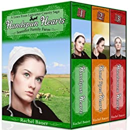 Amish Sommer Family Farm Complete Series Boxed Set Bundle vol 1,2,3 (Handspun Hearts; Hand Dyed Hearts; Handwoven Hearts) (A Lines from Lancaster County Saga Book 8) by [Bauer, Rachel]
