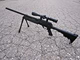 Well SPEC-OPS MB13A APS SR-2 Bolt Action Sniper Rifle Airsoft Gun (Black/Scope & Bipod Package)