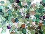 Clorofano piedras brutas aprox. Los guijarros naturales de la viruta de la fluorita de 9mm-15m m caben las decoraciones del acuario del tanque de pescados