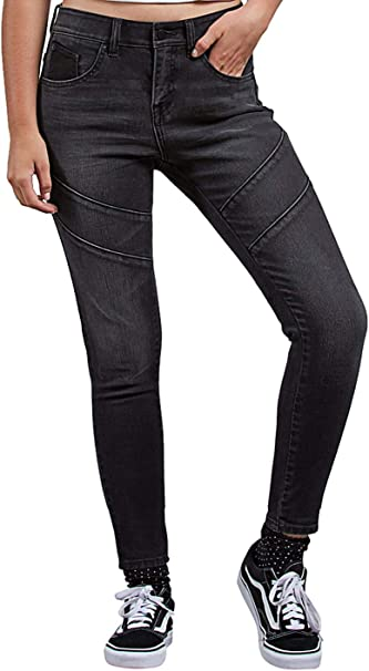 Volcom Damen Jeans Hose Rockout II Skinny Jeans: