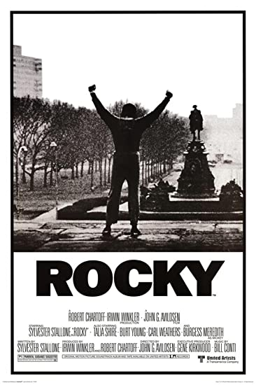 Image result for rocky movie poster