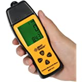 GXG-1987 Handheld Carbon Monoxide Meter with High Precision CO Gas Tester Monitor Detector Gauge LCD Display Sound and Light Alarm 0-1000ppm