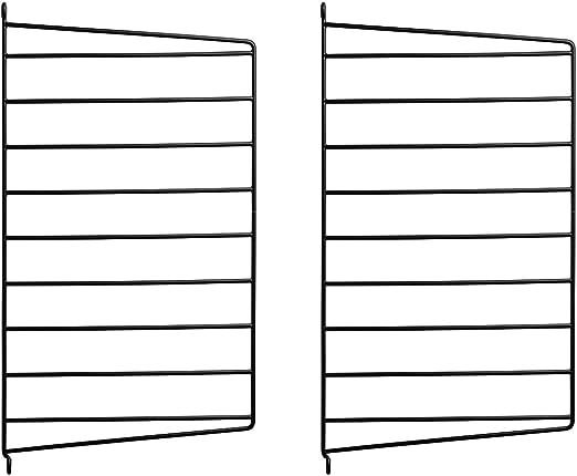Unbekannt String Juego de Escalera Sistema Pared 50 x 30 cm, Color Negro: Amazon.es: Juguetes y juegos
