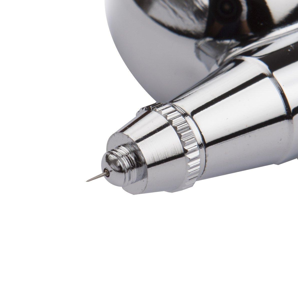 Amazon pinkiou airbrush makeup kit spray gun set with mini amazon pinkiou airbrush makeup kit spray gun set with mini compressor for cake decoration nail painting temporary tattoo hobby artblack arts prinsesfo Choice Image