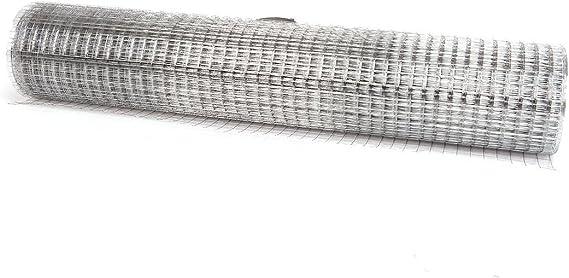 0,75 mm Dick Anself Maschendraht 4-Eck Volierendraht Drahtgitter 1mx10m