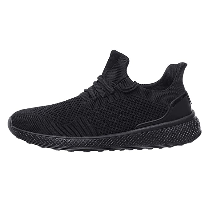 114a3560dedc1 Men's Fashion Sneakers Mesh Athletic Walking Casual Shoes Breathable ...