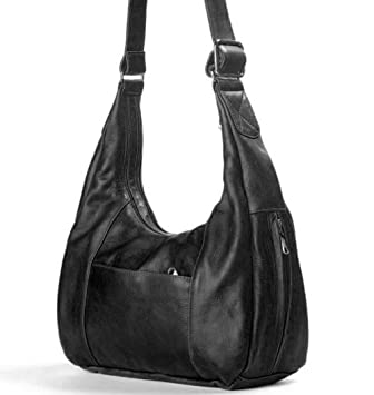 37950b42de2 Coronado Leather American Hobo Concealed Carry Handbag