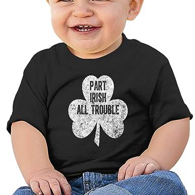Qiop Nee Part Irish All Trouble Short Sleeve Shirts Baby Girl
