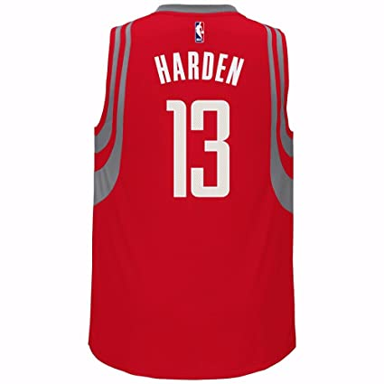 store adidas james harden houston rockets nba red official road away  climacool swingman jersey for men 7ab1ec26b