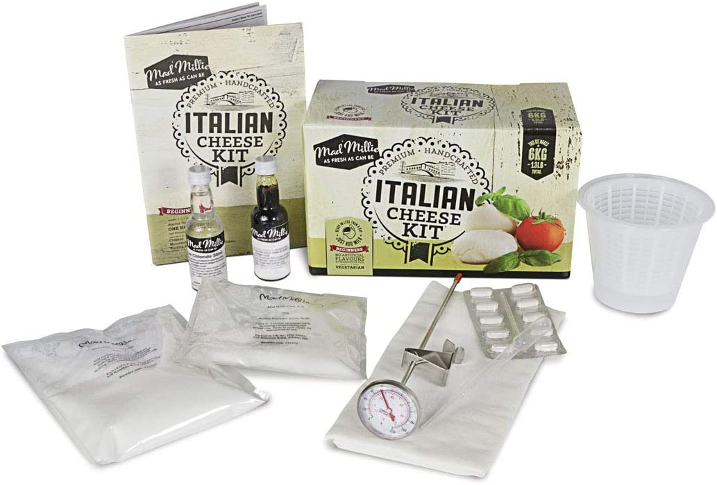 Mad Millie Italian Vegan Cheese Kit