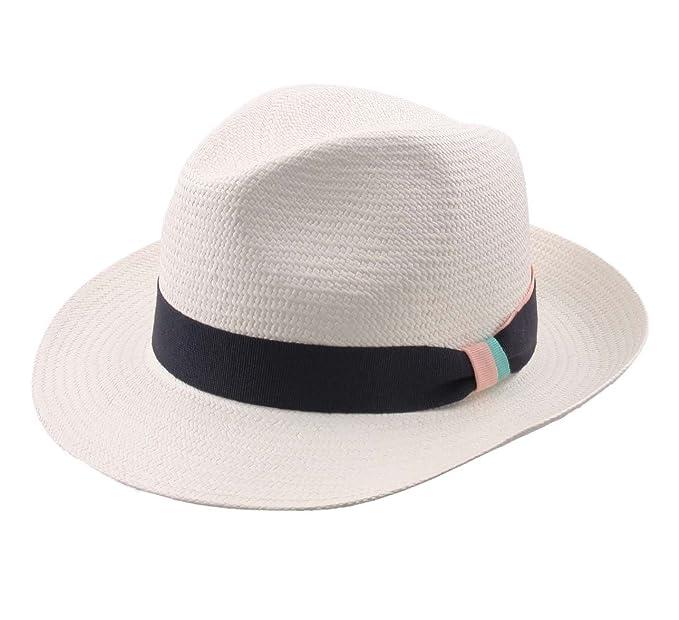 Modissima - Sombrero panamá hombre Equateur - talla 60 cm - blanc   Amazon.es  Ropa y accesorios ecccf008b82