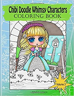 Chibi Doodle Whimsy Characters: Coloring Book Volume 3 ...