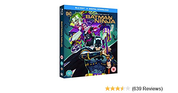Amazon.com: Batman Ninja [Blu ray]: Movies & TV