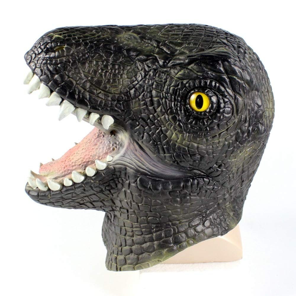 YXIAOL Máscara COS Raptor Animal Headgear Halloween Dinosaur Headgear Animal Prehistórico,Color: Amazon.es: Deportes y aire libre