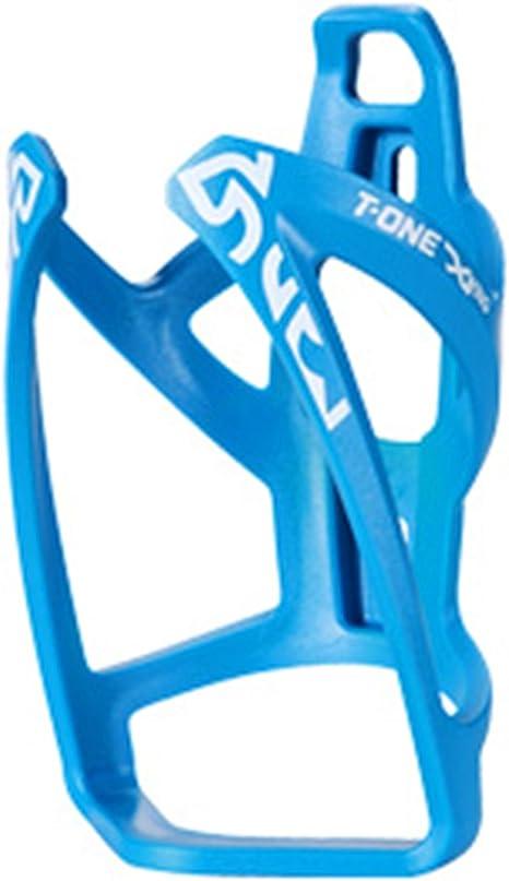 Portabidon Porta Bidon Azul Cacharra de Fibra Bicicleta MTB ...