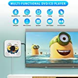 Portable CD/DVD Player with Bluetooth,Wall