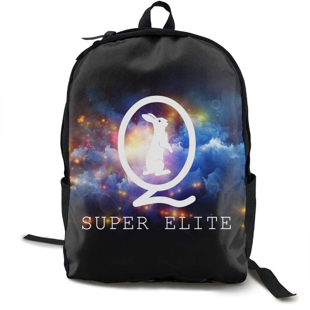 b40438e1d73e Amazon.com | QAnon Super Elite 3D Print Backpack Fashion Canvas ...