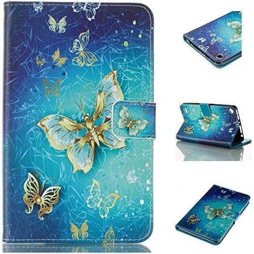 Tablet 7 Folio (Fire 7 2017 Case,Amazon Fire 2017 Case,Kindle Fire 7 7th Generation Case,Fire HD 7 Tablet Case 2017,Premium PU Leather Smart Case and Back Cover Flip Folio Case for Kindle Fire 7 2017 Tablet)