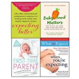 img - for Expecting better,baby food matters,first-time parent,when you're expecting 4 books collection set book / textbook / text book