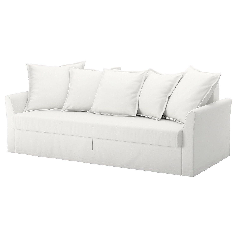 IKEA Holmsund ndash; 休み カバーSleeperソファRanstaホワイトコットン カバーのみ B07887NT6H 全国一律送料無料