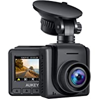 """AUKEY Mini Dash Cam 1080p Full HD Dash Camera with 1.5"""" LCD Screen Car Camera with 170° Wide-Angle Lens, G-Sensor, WDR…"""
