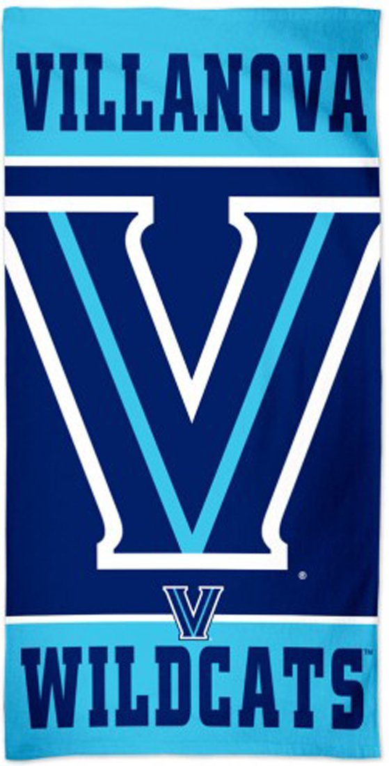 Villanova Wildcats Beach Towel with Premium Spectra Graphics 30x60 inches
