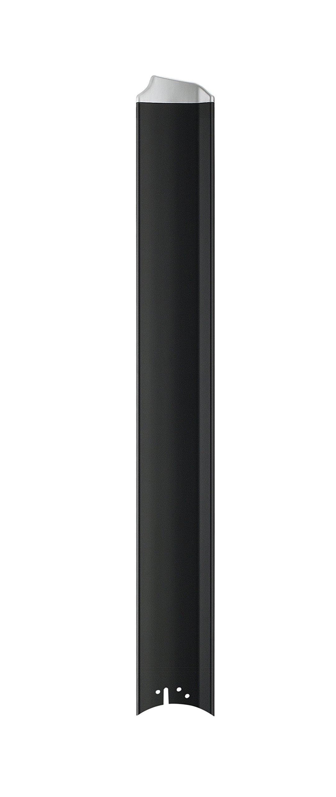 Fanimation B7997-56BLW Custom Fan Blades, Black/Silver