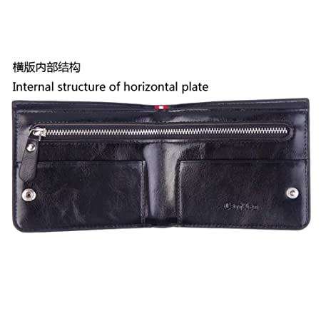 Amazon.com: Mens Wallet, BOLUBILUY Leisure Slim Leather ...