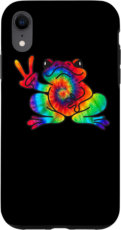 Hope Faith Spirit Joy Kindness Peace Frog iPhone case
