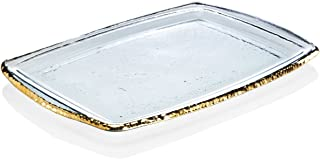 product image for Annieglass Edgey Gold Martini Tray