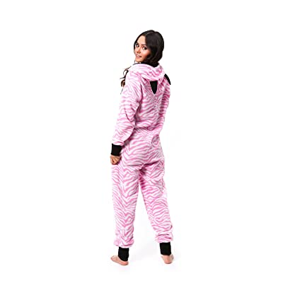 Totally Pink Women s Plus Size Warm and Cozy Plush Onesie Pajama (2X ... 004dd89bc