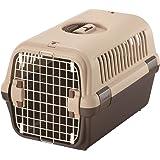 リッチェル キャンピングキャリー Mサイズ 小型犬・猫用 ダークブラウン