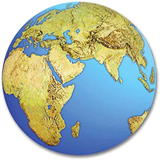 16-Inch Beistle 55249 Planet Earth Cutout