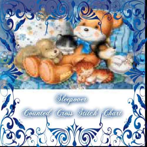 Free Counted Cross Stitch Charts (Sweet Dreams Collection - The Sleepover Counted Cross Stitch Chart)