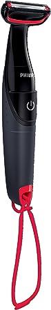 Philips Bodygroom Series 1000 - Afeitadora corporal, color negro [Importado de Italia]