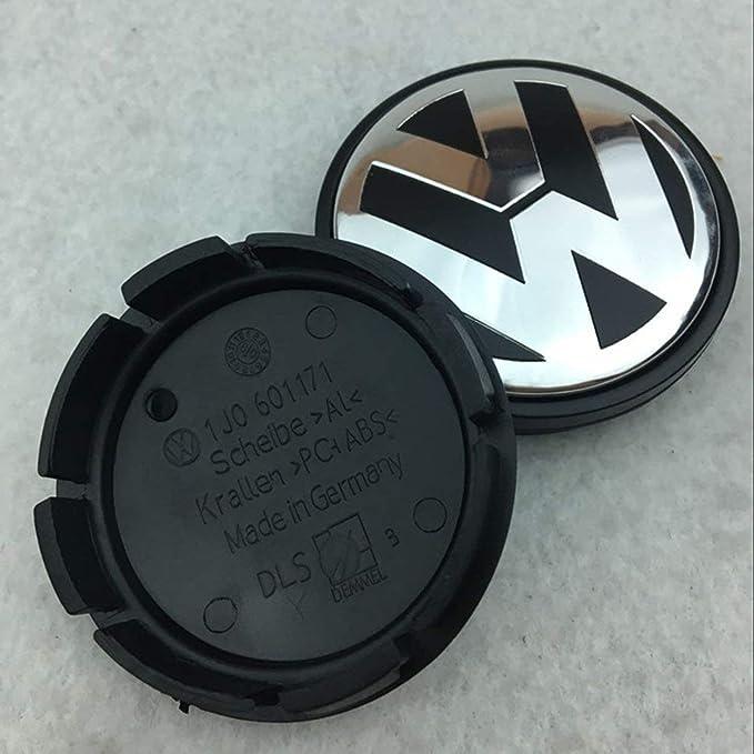 Losenlli Auto Profesional Rueda del Centro del Coche Cubos del Cubo Rueda Centro Cubierta Insignia para Volkswagen Car Styling Accesorios: Amazon.es: Coche ...