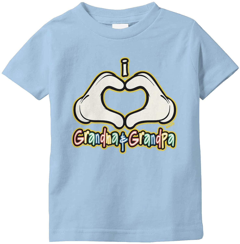 Amdesco I Love Grandma and Grandpa Infant T-Shirt
