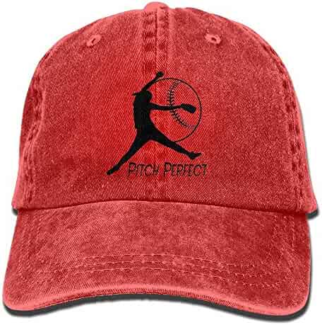 1881743f1f3cd Cotton Denim Cap Baseball Hat Softball Pitching High Six-Panel Adjustable  Trucker Dad Hat