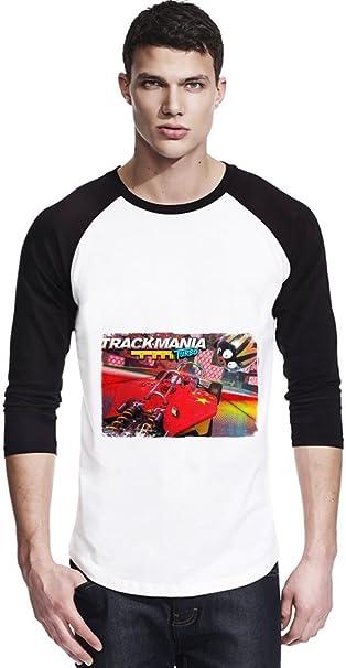 Trackmania Turbo Action Camisa unisex del béisbol X-Large
