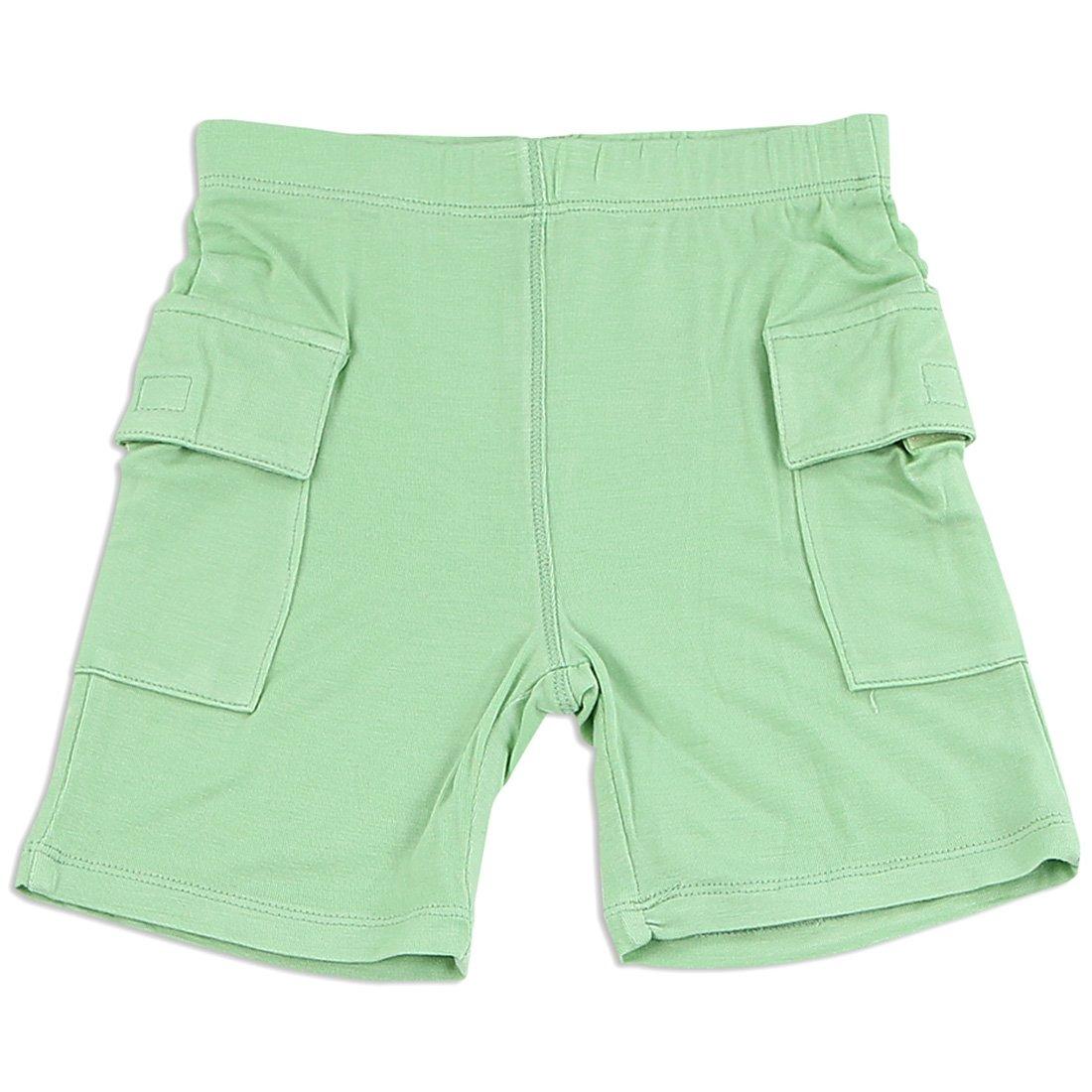 Silkberry Baby Bamboo Baby-Boys Cargo Pocket Shorts