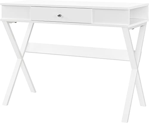 Ameriwood Home Paxton Campaign Desk, White