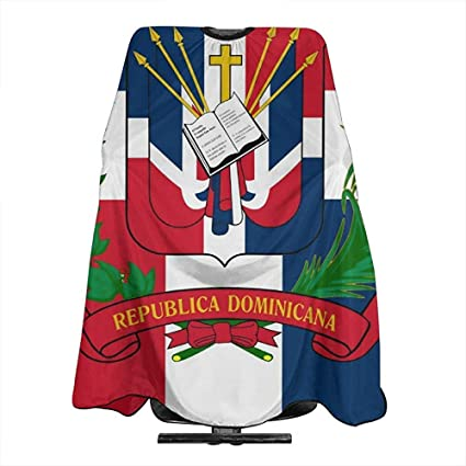 Barberos Delantal Bandera De La República Dominicana Barbero ...