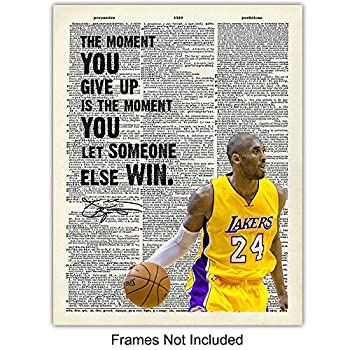 Kobe Bryant Moments Beautiful Pictures I Love Basketball Poster No Frame Xmas